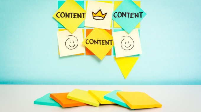 What are the basic points of a content strategy