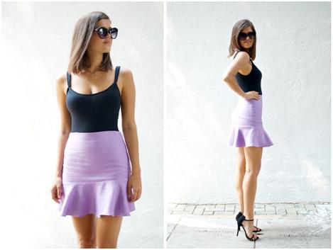 How to hem a skirt or dress